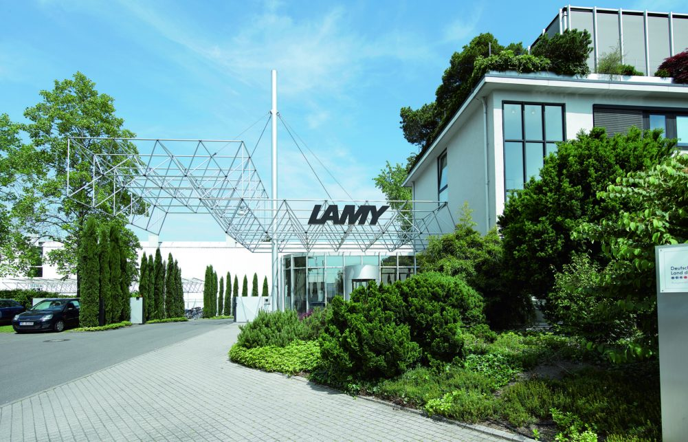 Außenansicht Lamy Produktion Werk Heidelberg