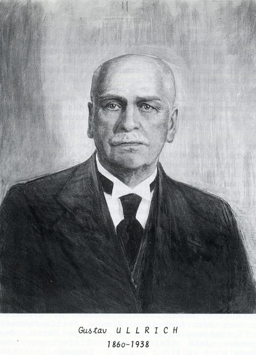 Portrait Gustav Ullrich