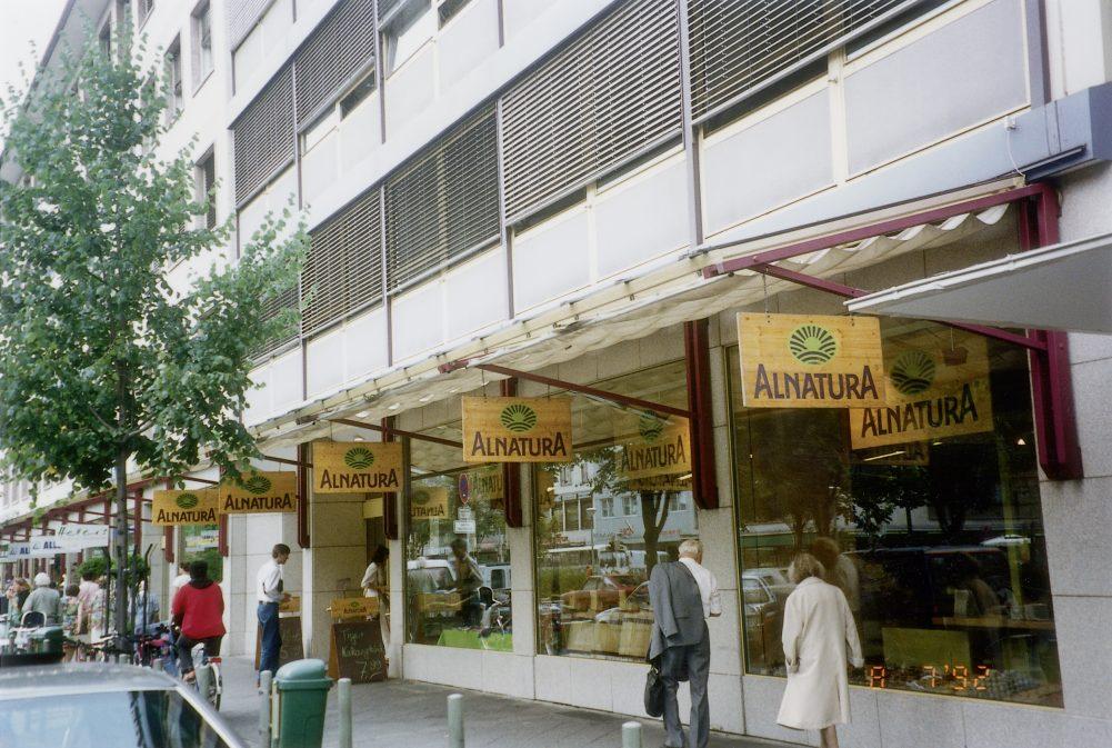 Mannheim Alnatura Außenansicht