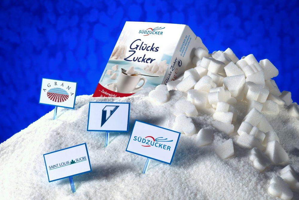 Südzucker Logo und weitere Logos von beteiligten Firmen