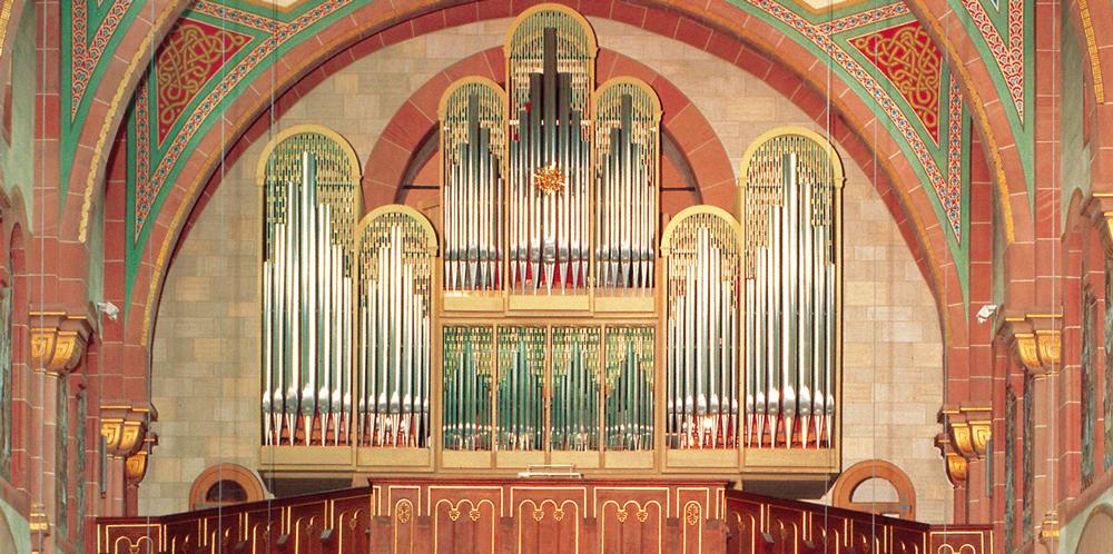 Made in Hartheim: Die original Vleugelsorgel in der Hardheimer Kirche St. Alban.