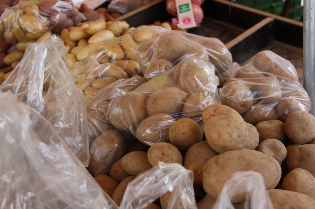 Kartoffeln in Tüten